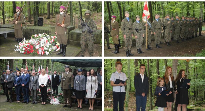Uroczystości Powiat, Lisich Jamach uczcili pamięć ofiar totalitaryzmu Garwolin - zdjęcie, fotografia