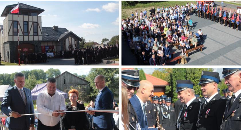 Uroczystości Powiat, Wyjątkowa strażnica Niecieplinie oficjalnie otwarta - zdjęcie, fotografia