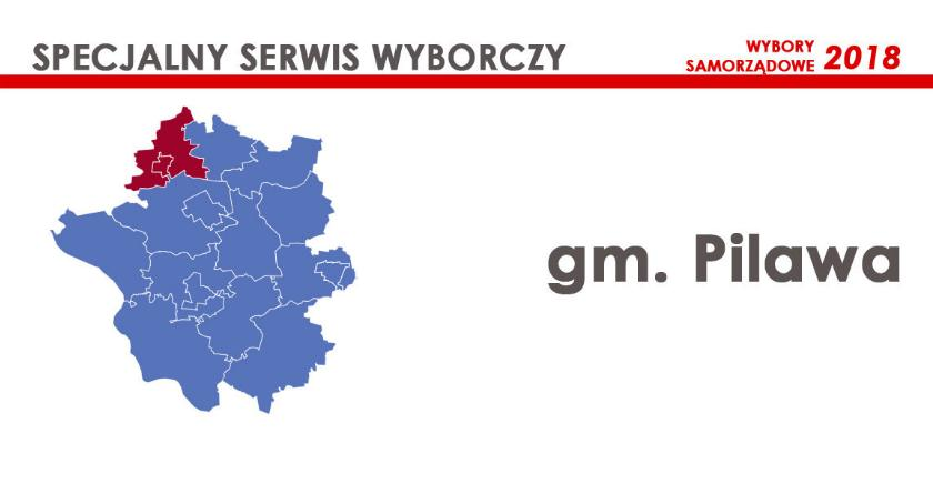 Kandydaci, Kandydaci miasta gminy Pilawa - zdjęcie, fotografia