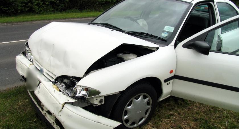 Wypadki drogowe , Wypadek Wilga szpitalu kobieta zaawansowanej ciąży - zdjęcie, fotografia