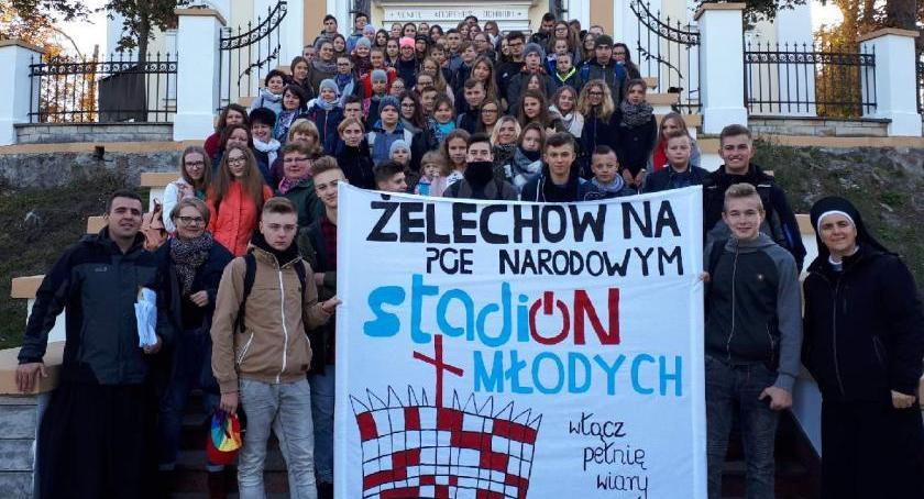 """Inne Powiat, Żelechów """"Stadionie Młodych"""" - zdjęcie, fotografia"""
