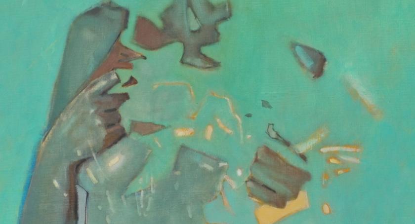 Wystawy, Malarstwo Łukasza Rudeckiego - zdjęcie, fotografia