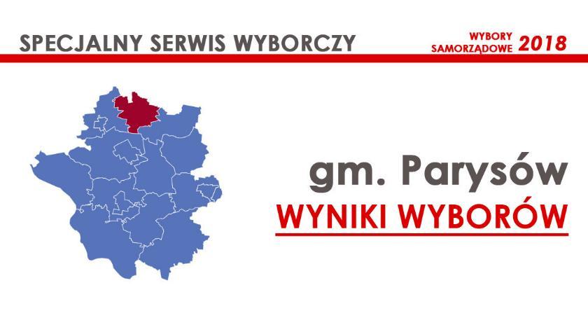 Wybory samorządowe 2018, radni gminy Parysów wybrani wyniki oficjalne - zdjęcie, fotografia