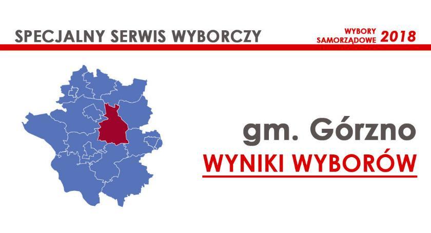 Wybory samorządowe 2018, radni gminy Górzno wybrani wyniki oficjalne - zdjęcie, fotografia