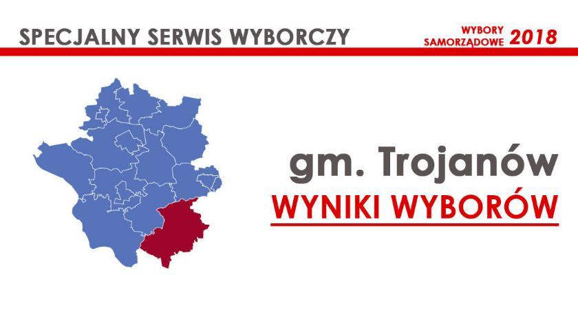 Wybory samorządowe 2018, radni gminy Trojanów wybrani wyniki oficjalne - zdjęcie, fotografia