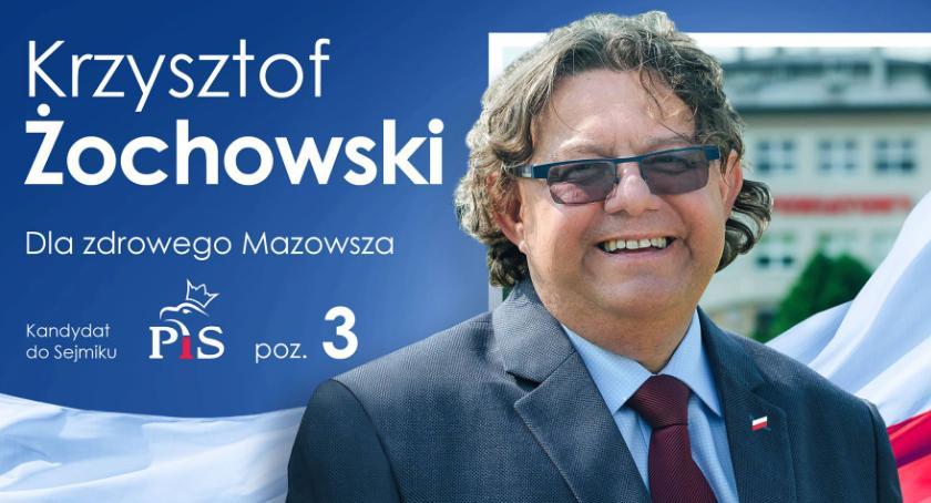 Wybory samorządowe 2018, sejmiku województwa tylko Żochowski - zdjęcie, fotografia