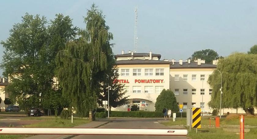 Inne Powiat, Szpital Rykach działa chorych odsyłają Garwolina - zdjęcie, fotografia