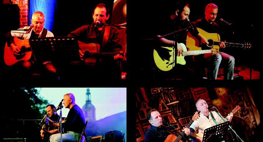 W Garwolinie, Koncert Cohen Kaczmarski Stachura - zdjęcie, fotografia