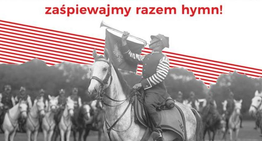 Uroczystości Miejskie, Zaśpiewajmy razem Jeszcze Polska zginęła! - zdjęcie, fotografia
