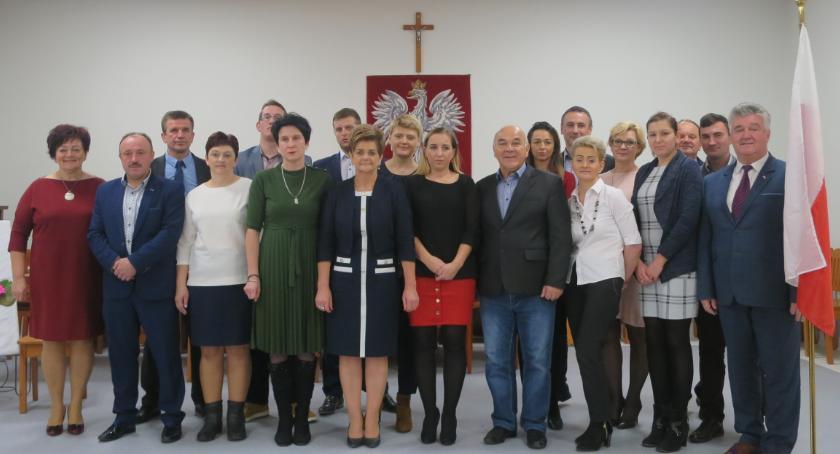 Inne Powiat, Wójt radni gminy Parysów złożyli ślubowanie - zdjęcie, fotografia