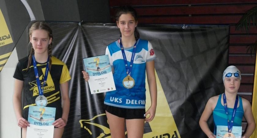 Pływanie, Złota sztafeta Delfina - zdjęcie, fotografia
