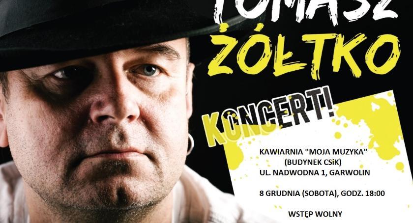 W Garwolinie, Koncert Tomasza Żółtko Garwolinie - zdjęcie, fotografia