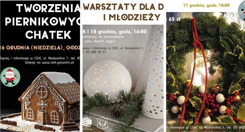 Inne Miejskie, Świąteczne zrób Warsztaty każdego! - zdjęcie, fotografia