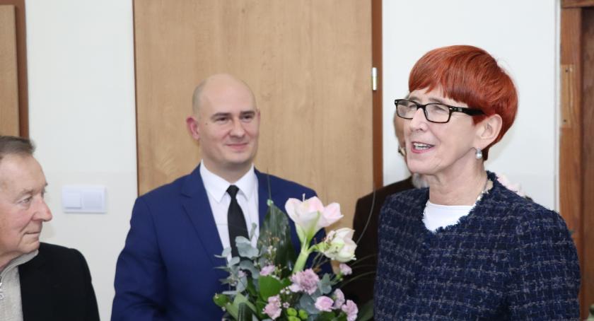 Minister Rafalska z wizytą u seniorów