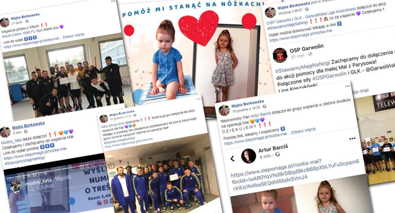 Charytatywnie, #StawiamyMajęNaNogi córki uwierzyli - zdjęcie, fotografia