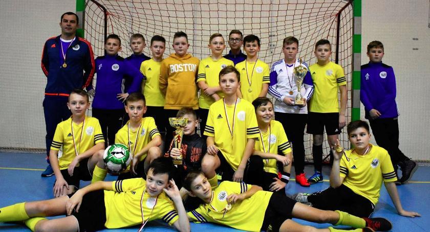 Piłka nożna, Żelechów zwycięzcą turniej Snajper - zdjęcie, fotografia