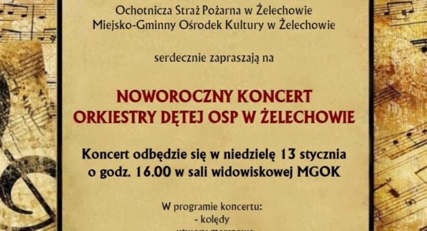W Powiecie, Noworoczny koncert żelechowskiej Orkiestry Dętej - zdjęcie, fotografia