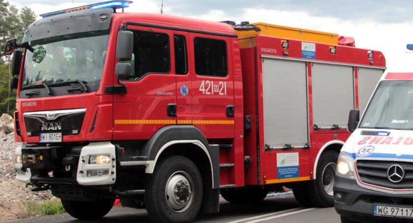 Pożary - interwencje straży, Strażacka kronika zdarzeń Garwolinie - zdjęcie, fotografia