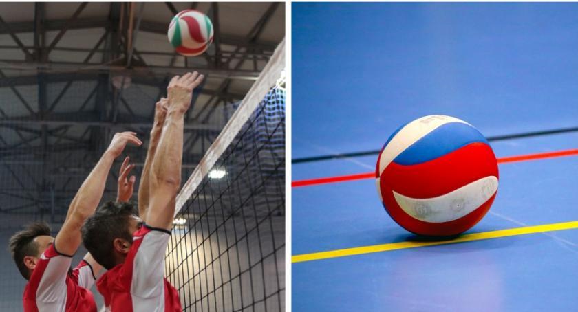 Siatkówka, Mistrzostwa Powiatu Strażaków piłce siatkowej - zdjęcie, fotografia