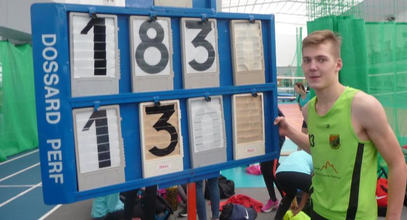 Lekkoatletyka, Lekkoatleci Wilgi podium - zdjęcie, fotografia