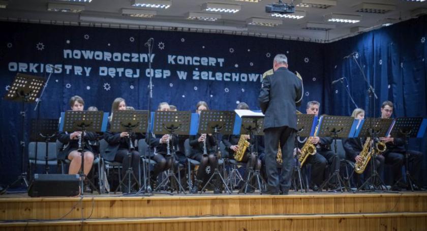 Koncerty, Noworoczny Koncert Orkiestry Dętej Żelechowie - zdjęcie, fotografia