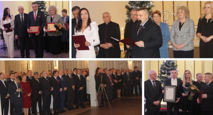 Inne Powiat, Spotkanie noworoczne nowej władzy Miętnem - zdjęcie, fotografia