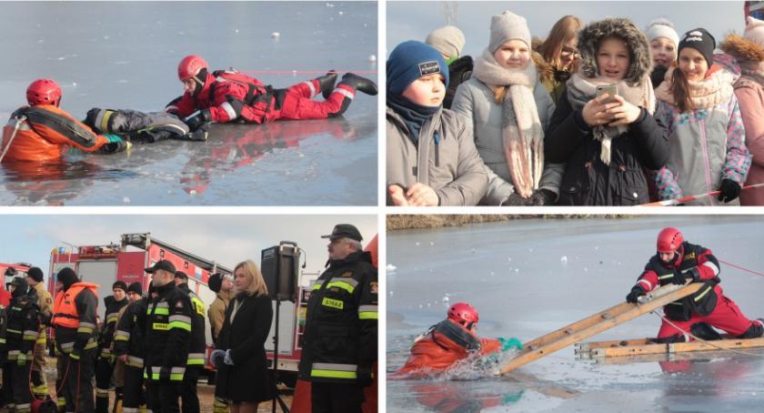 Inne Miejskie, Załamał tonie człowiek ratować pomóc tonącemu - zdjęcie, fotografia