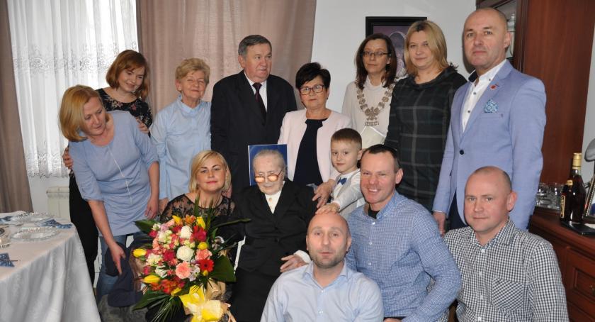 105 lat Marianny Rękawek