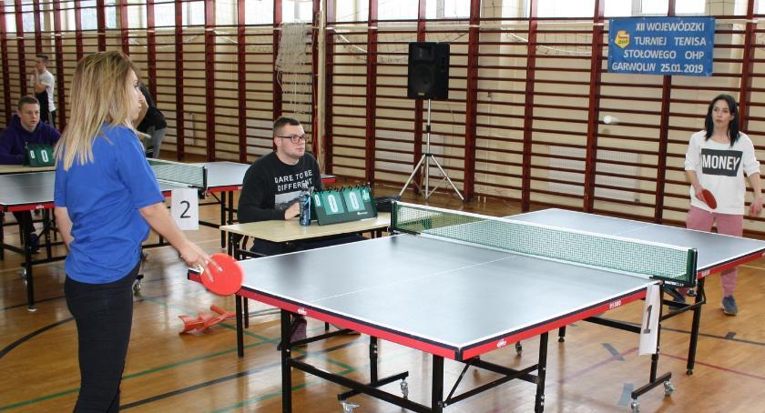 Tenis, Turniejowe zmagania Garwolinie - zdjęcie, fotografia