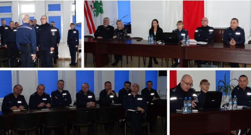 Inne Powiat, Wyniki pracy policjantów liczbach Odprawa roczna - zdjęcie, fotografia
