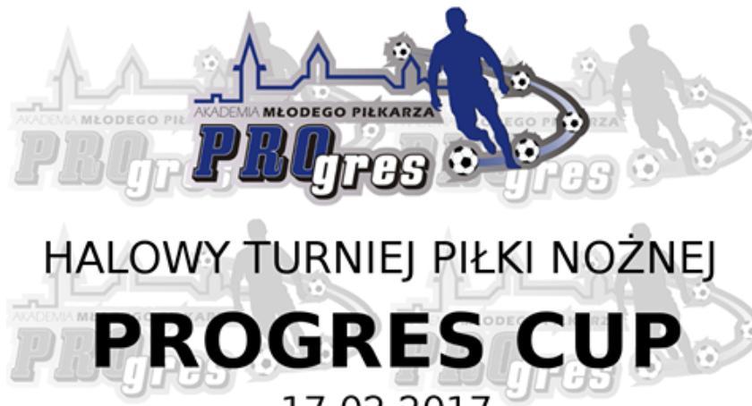 W Garwolinie, Halowy turniej piłki nożnej Progres - zdjęcie, fotografia