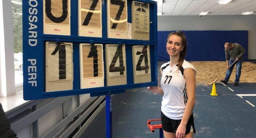 Lekkoatletyka, Zwycięstwo rekord klasa sportowa Julii Biernackiej - zdjęcie, fotografia