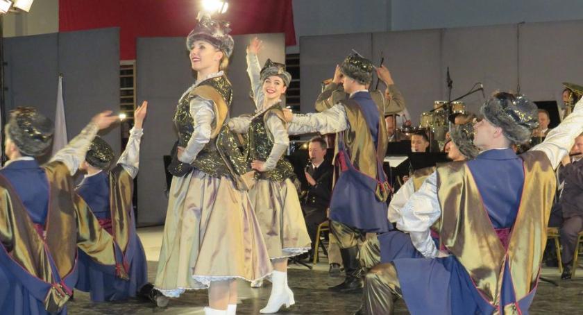 Koncerty, Reprezentacyjny Zespół Artystyczny Wojska Polskiego wystąpił Górznie - zdjęcie, fotografia