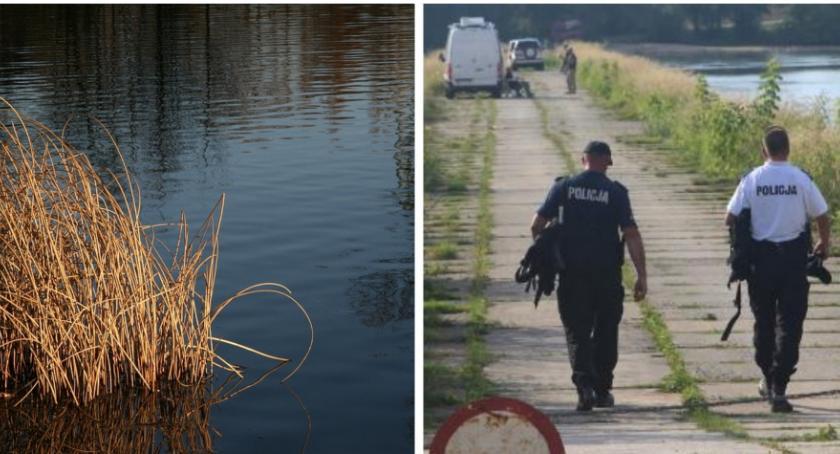 Sprawy kryminalne , Zaginiony mężczyzna żyje zwłoki znaleziono stawie - zdjęcie, fotografia