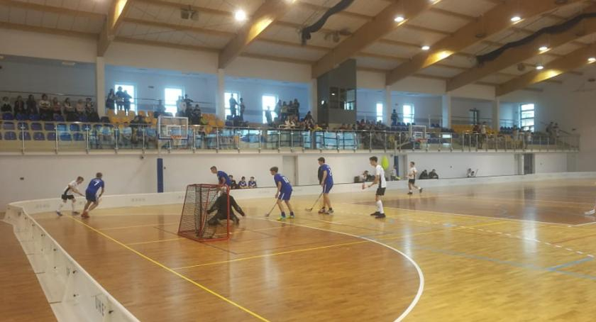 Inne Dyscypliny, Finał Powiatowych Mistrzostw Unihokeja chłopców - zdjęcie, fotografia