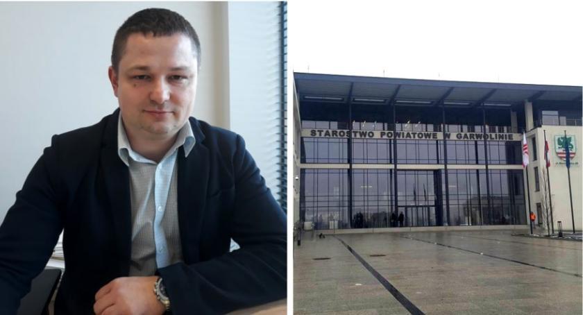 Inne Powiat, Bartłomiej Kozyra oficjalnie nowym sekretarzem powiatu - zdjęcie, fotografia