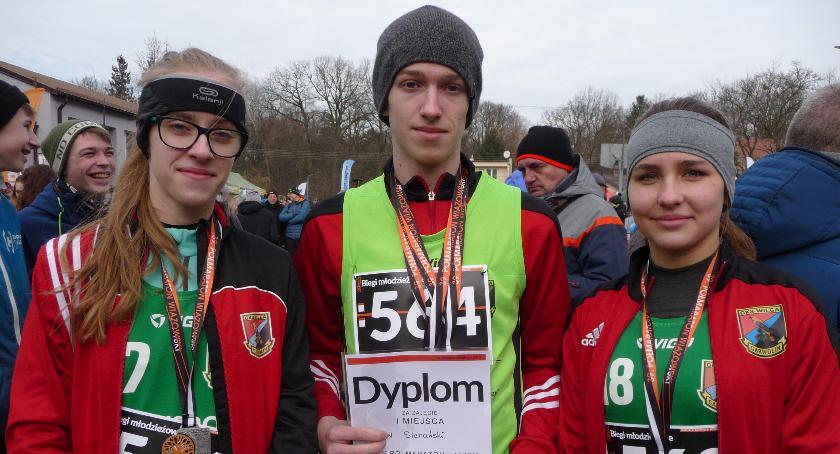 Biegi, Zimowe medale młodzieży Wilgi - zdjęcie, fotografia