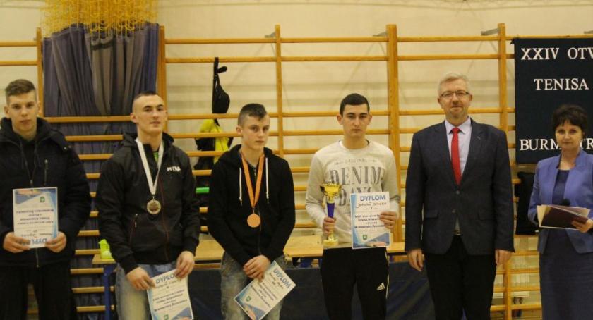 Tenis, Otwarty Turnieju Tenisa Stołowego Puchar Burmistrza Żelechowa - zdjęcie, fotografia