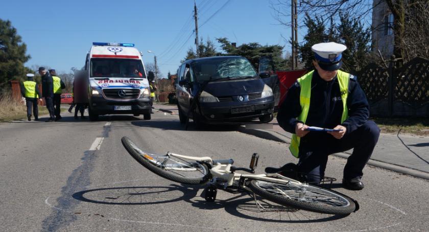 Komunikaty policji , wypadków udziałem rowerzystów policja przypomina przestrzeganiu przepisów - zdjęcie, fotografia