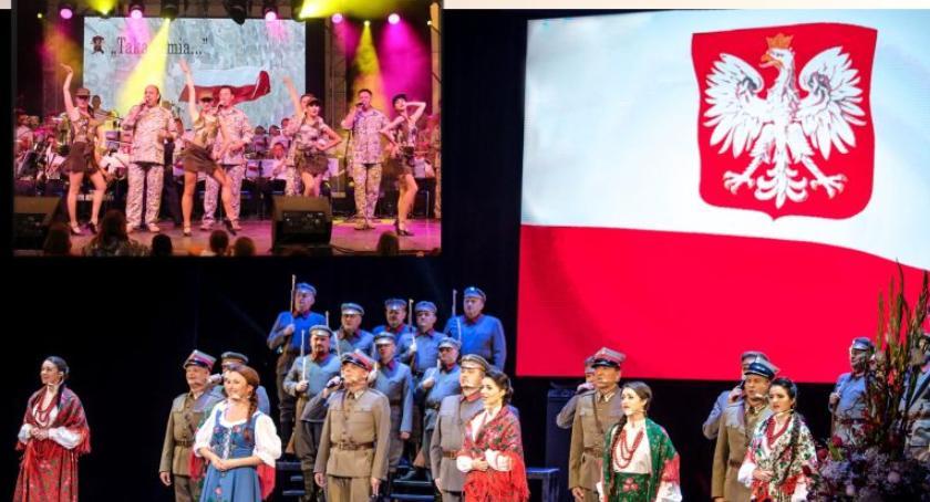 W Garwolinie, Koncert Reprezentacyjnego Zespołu Artystycznego Wojska Polskiego Garwolinie - zdjęcie, fotografia