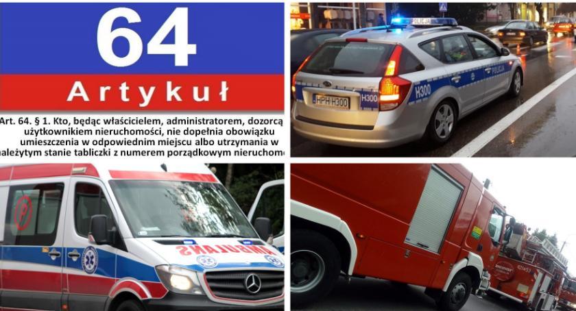 Komunikaty policji , Dlaczego oznakowanie posesji ważne Policjanci sprawdzą tabliczki - zdjęcie, fotografia