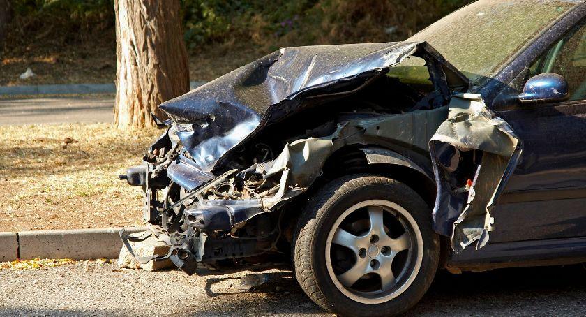 Wypadki drogowe , Wypadek Żelechowie jeden ustąpił pierwszeństwa drugi pijany - zdjęcie, fotografia