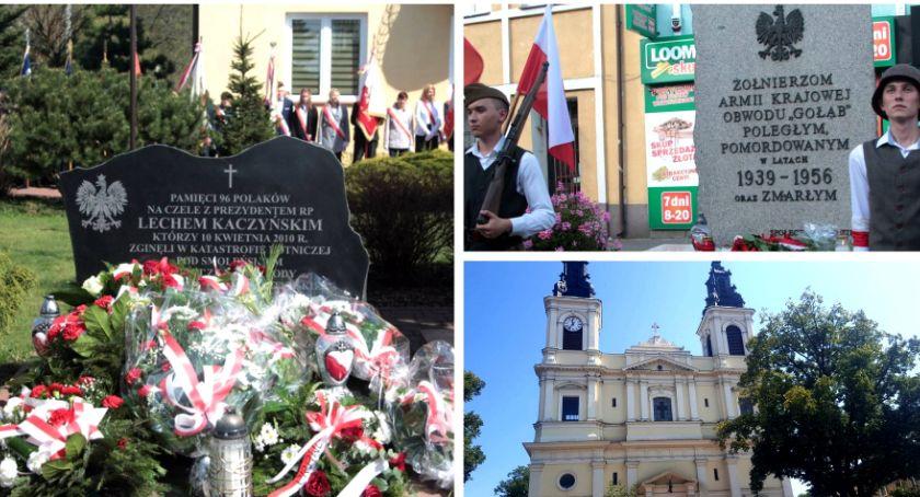 W Powiecie, Obchody rocznicy katastrofy Smoleńskiem - zdjęcie, fotografia