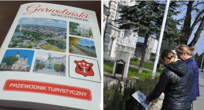 Inne Miejskie, Zwiedzaj Garwolin poznaj swoje miasto tabliczki Spacerownik - zdjęcie, fotografia