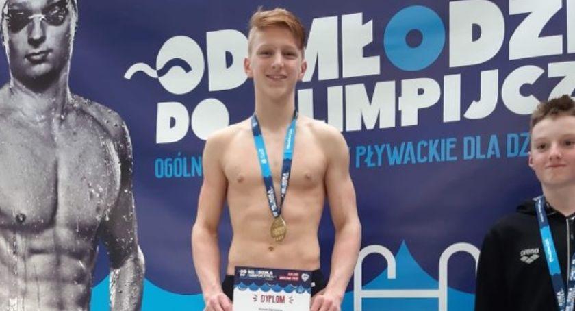 Pływanie, Złoto Siwka! - zdjęcie, fotografia
