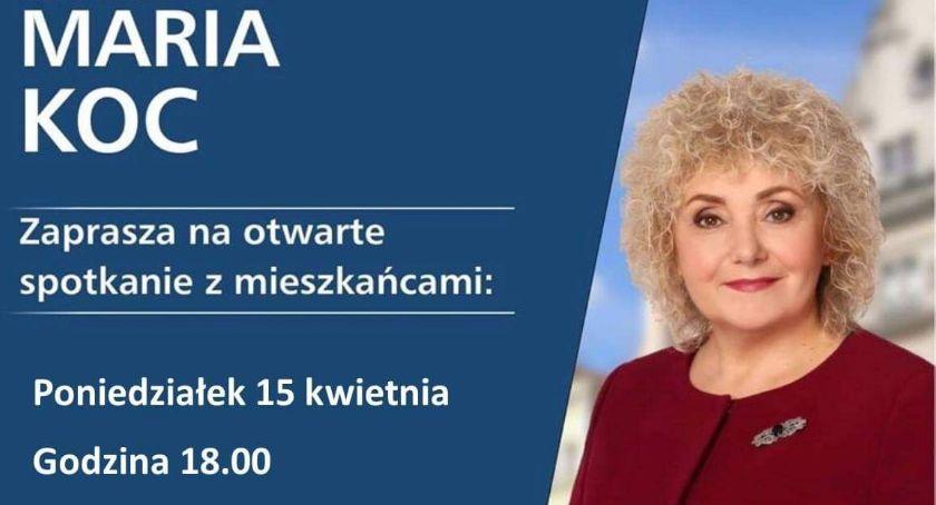 W Powiecie, Spotkania otwarte senator Marii mieszkańcami - zdjęcie, fotografia