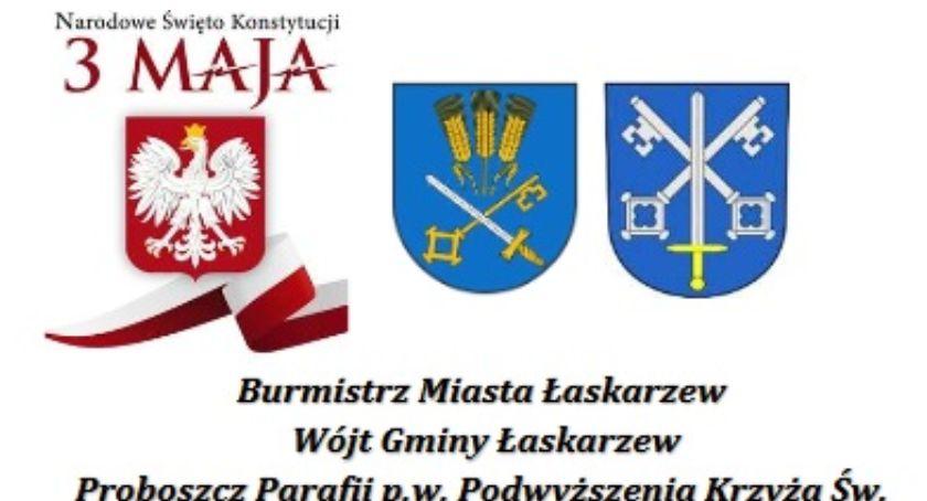 W Powiecie, Rocznica uchwalenia Konstytucji Łaskarzewie - zdjęcie, fotografia