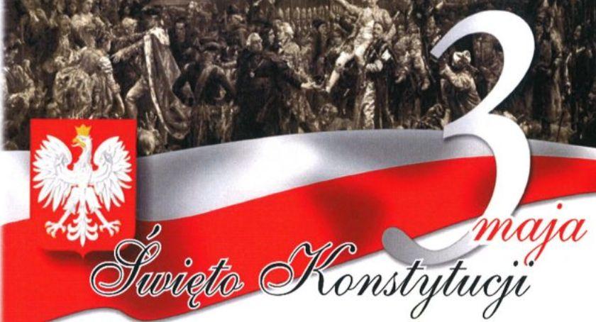 W Powiecie, rocznica uchwalenia Konstytucji Maciejowicach - zdjęcie, fotografia