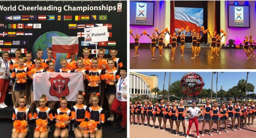 Inne Dyscypliny, Dały siebie wszystko Reprezentacja Polski Cheerleaders miejscu świecie - zdjęcie, fotografia