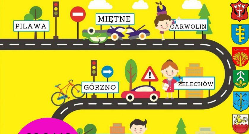 W Garwolinie, Eliminacje powiatowe Ogólnopolskiego Turnieju Bezpieczeństwa Ruchu Drogowym - zdjęcie, fotografia